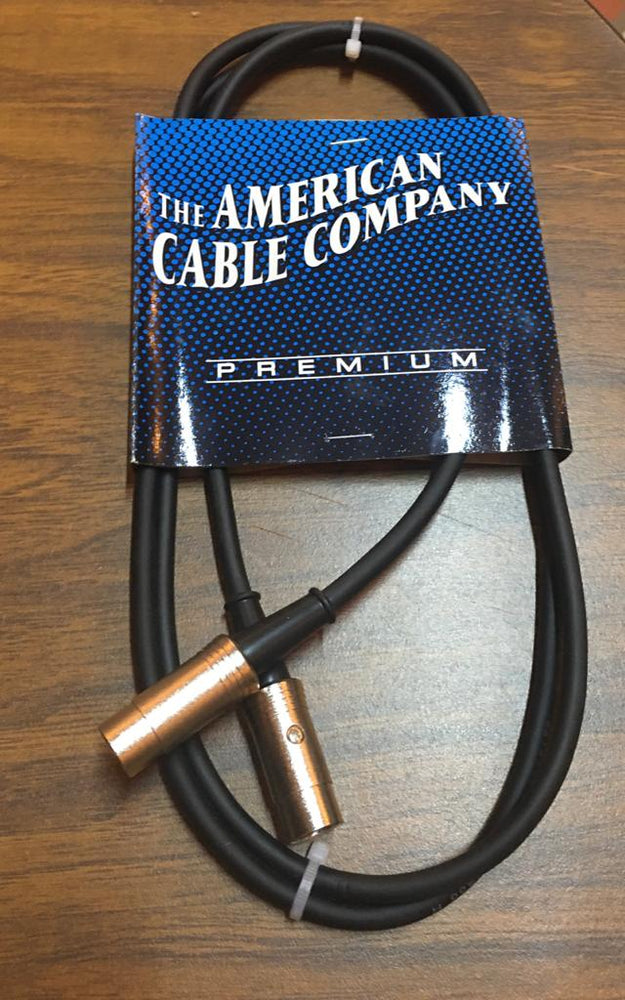 Cable Midi 5 Pin - American Cable Company (1.28mts)