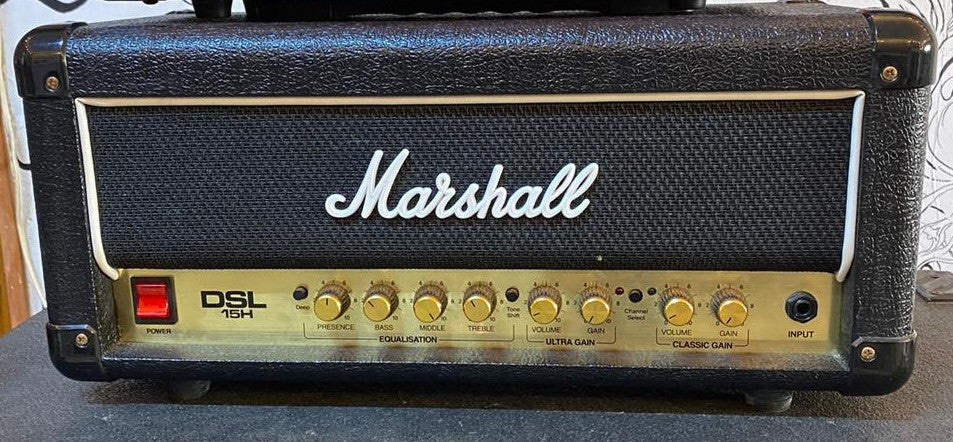 Marshall DSL15H 15-Watt Tube Guitar Head (USADO)