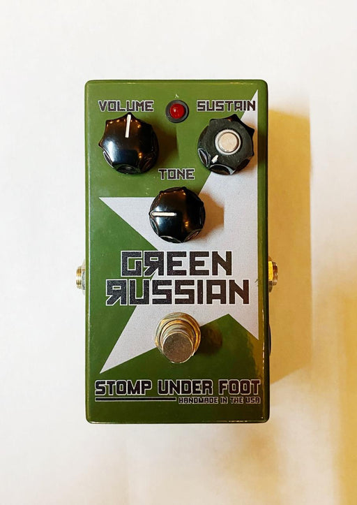 Stomp Under Foot Green Russian (USADO)