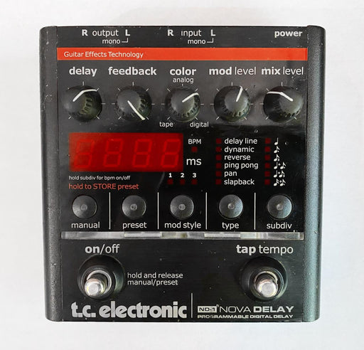TC Electronic ND-1 Nova Delay (USADO)