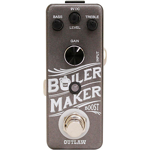 Outlaw Effects Boiler Maker Clean Boost Guitar Effects Pedal