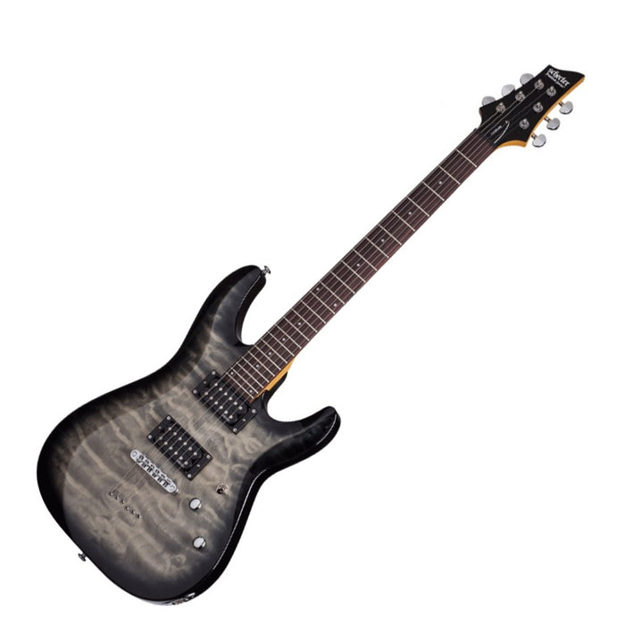 GUITARRA SCHECTER  C-6 PLUS charcoal burst