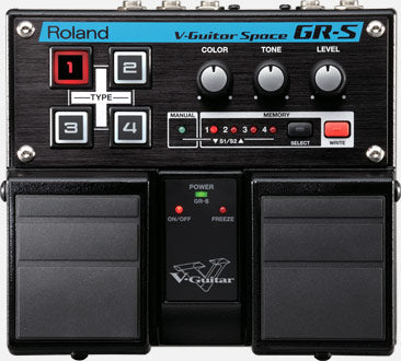 Roland GR-S V-Guitar Space Pedal (Open Box)