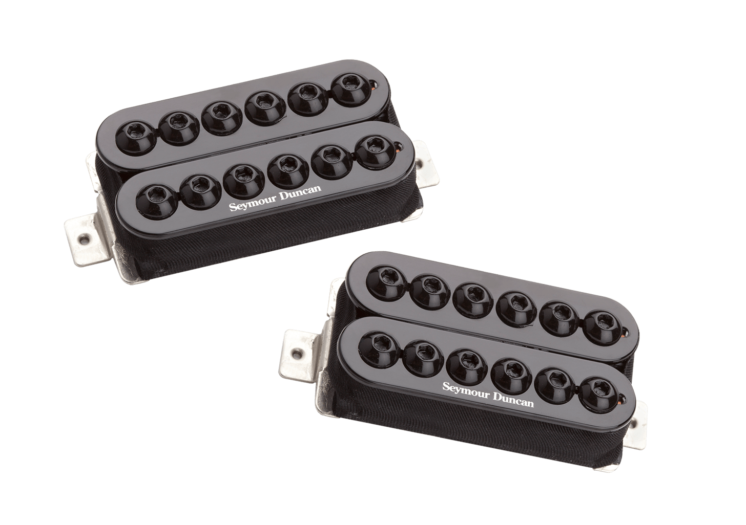 Invader Humbucker Pickup Set Black