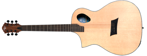 Guitarra Electroacustica Zurda Michael Kelly Forte Port Lefty