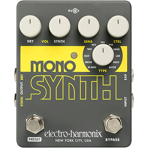 Electro Harmonix Guitar Mono Synth Guitar Synthesizer