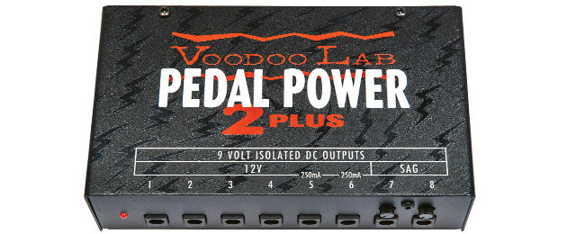 Fuente de Poder Voodoo Lab Pedal Power 2 Plus (usado)