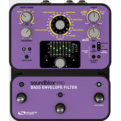 Source Audio Bass Envelope Filter ( Tiempo de entrega 3 a 4 días )