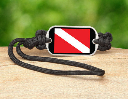 Gear Tag - Diver Down Flag Tag