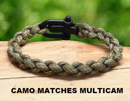 Survival Bracelet™- Round Braid