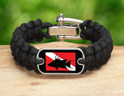 Regular Survival Bracelet™ - Hogfish Tag