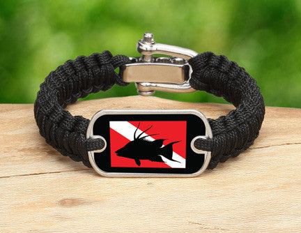 Light Duty Survival Bracelet™ - Hogfish Tag