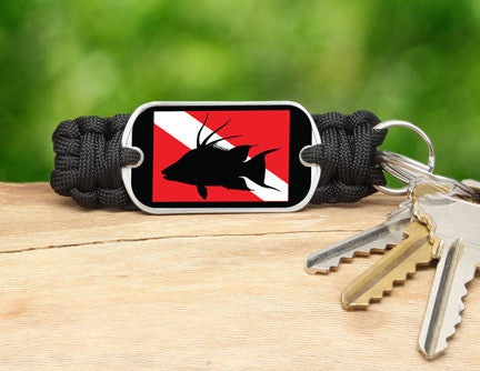 Key Fob - Hogfish Tag