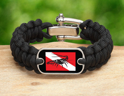Regular Survival Bracelet™ - Lobster Tag