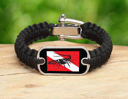 Light Duty Survival Bracelet™ - Lobster Tag