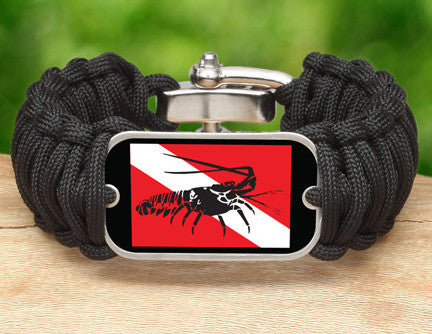 Wide Survival Bracelet™ - Lobster Tag