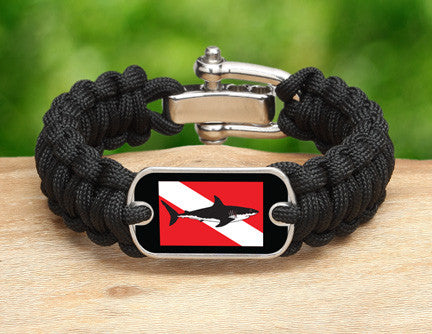 Regular Survival Bracelet™ - Shark Tag