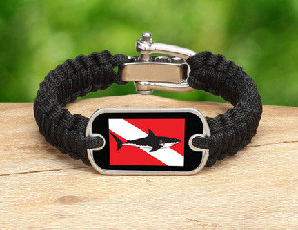 Light Duty Survival Bracelet™ - Shark Tag Tag