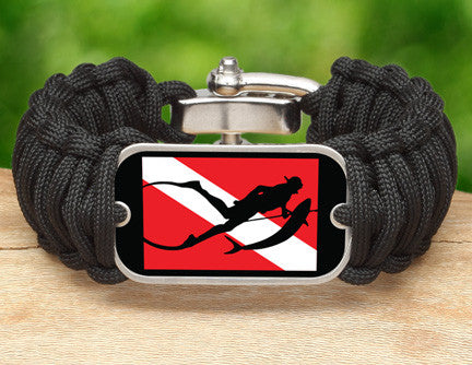 Wide Survival Bracelet™ - Spearfishing Tag
