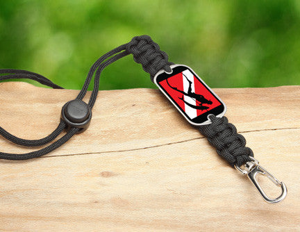 Neck ID Lanyard - Spearfishing Tag