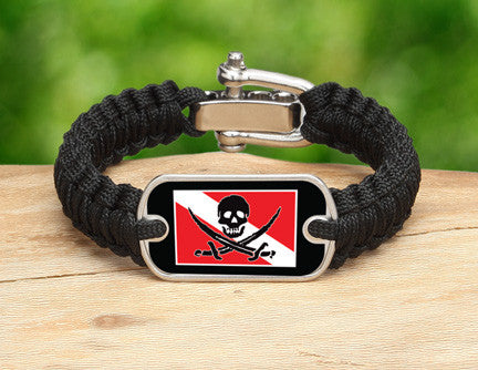 Light Duty Survival Bracelet™ - Calico Jack