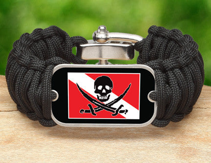 Wide Survival Bracelet™ - Calico Jack