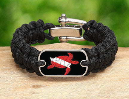 Regular Survival Bracelet™ - Sea Turtle Tag