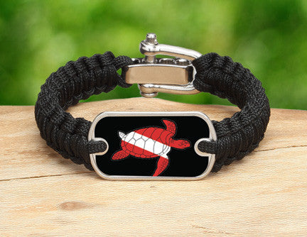 Light Duty Survival Bracelet™ - Sea Turtle Tag
