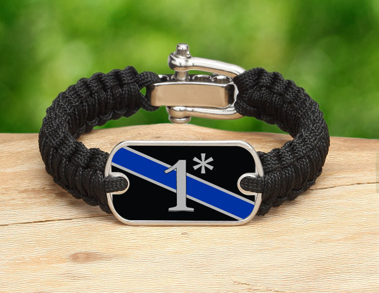 Light Duty Survival Bracelet™ - Police 1*