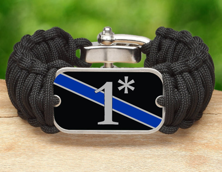 Wide Survival Bracelet™ - Police 1*
