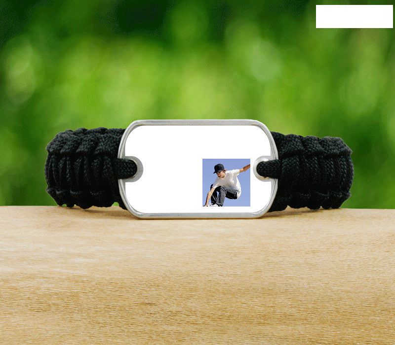 Light Duty Survival Bracelet - Picture Ribbons-T