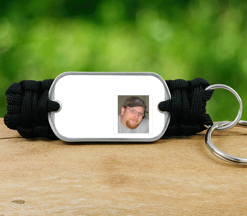 Key Fob - Picture Ribbons