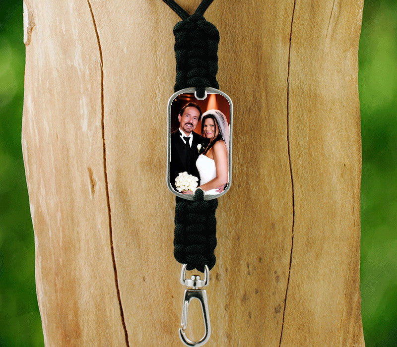 Neck ID Lanyard - Photo - T