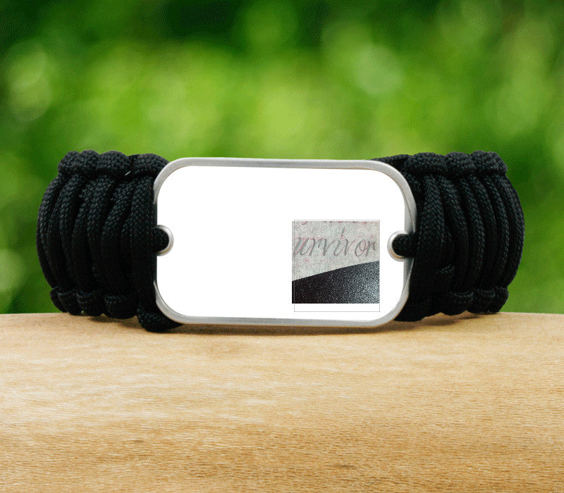 Wide Survival Bracelet™ - Picture Ribbons - T