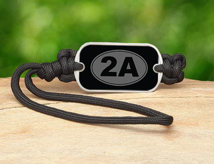 Gear Tag - 2nd Amendment (Gray)
