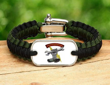 Light Duty Survival Bracelet™ - 2D Maintenance Battalion - 2 Logo