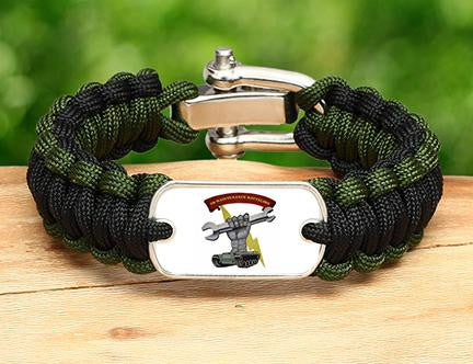Regular Survival Bracelet™ - 2D Maintenance Battalion - 2 Logo