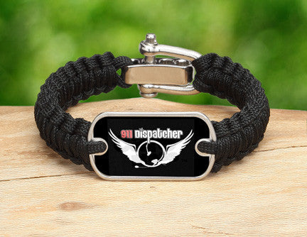 Light Duty Survival Bracelet™ - 911 Dispatcher Angel Tag