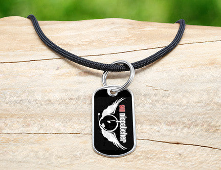 Neck Cord - 911 Dispatcher Angel Tag