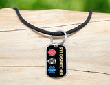 Neck Cord - 911 Dispatcher Tag