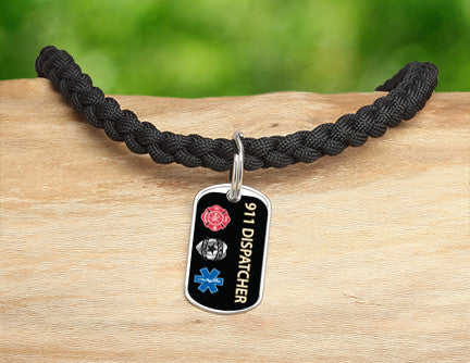 Necklace - 911 Dispatcher Tag