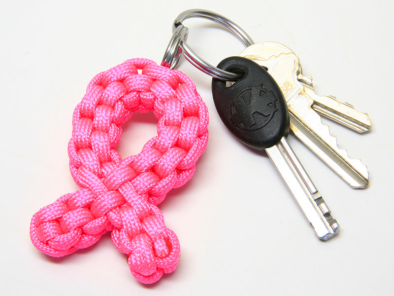 Awareness Ribbon Key Fob