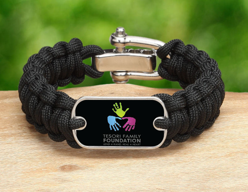 Regular Survival Bracelet™ - Tesori Family Foundation Logo