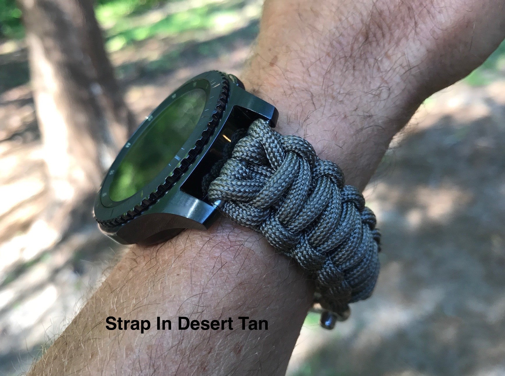 Samsung Gear S3 Paracord Watch Strap Survival Straps Frontier Double Side Only