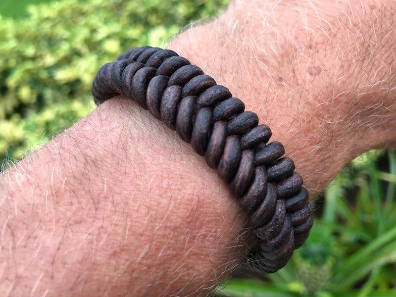 Leather Fish Tail Bracelet