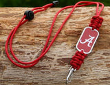 Neck ID Lanyard - Officially Licensed - Alabama®  Crimson Tide® V2