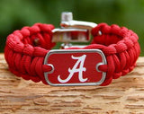 Regular Survival Bracelet™ - Officially Licensed - Alabama® Crimson Tide® V2