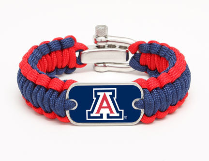 Regular Survival Bracelet - Officially Licensed - Arizona Wildcats®