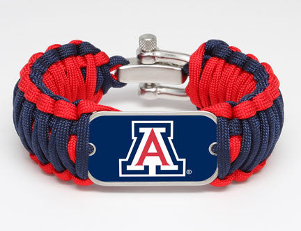 Wide Survival Bracelet - Officially Licensed - Arizona Wildcats®