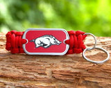 Key Fob - Officially Licensed - Arkansas Razorbacks® V2